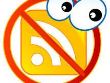 Выключить RSS