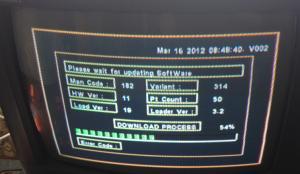 Strong SRT 8500 HD процесс обновление