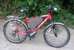 Электро велосипед аккумуляторы
