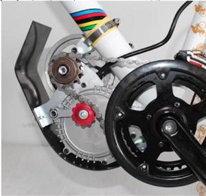 Подвесной мотор на электровелосипед