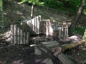 Святая вода в голосеевском лесу