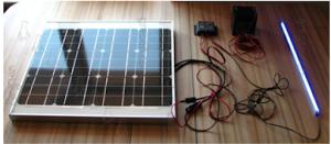 Солнечная зарядка для Электровелосипеда